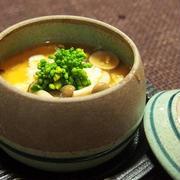 豆乳鶏そぼろ豆腐 きのこあん  「豆乳レシピコンテスト」参加レシピ