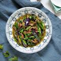 この組み合わせ♡美味しすぎっ。ご飯がススム!夏野菜の最強おかず【豚バラ肉の茄子ニラ味噌炒め】