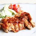 鶏肉のソテー** ピリ辛おろし玉葱 醤油麹ソース