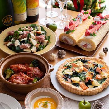 クリスマスパーティーをしました♪野菜たっぷりのコース料理!【農家のレシピ帳】