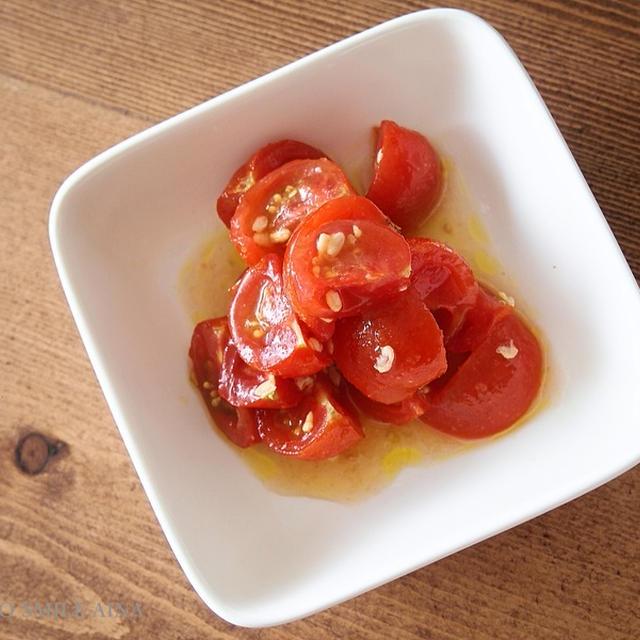 トマトのさっぱりマリネ