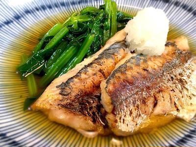 """焼き魚に""""だし""""をかける料理"""