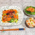 ★【おうちごはん】夏バテ防止、長芋と豚肉の甘辛炒め♪
