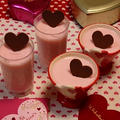 バレンタイン♡ストロベリーチョコムース♡