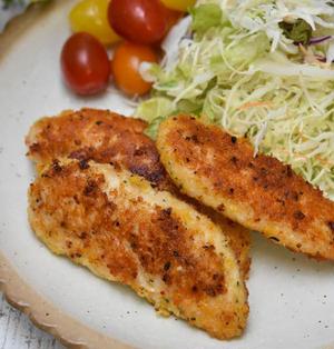 ハーブ香る鶏ささみのハーブパン粉焼き|おなじみのさわやかハーブあなたはどれがお好み?