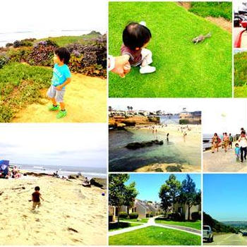 サンディエゴへの家族旅行