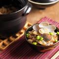 ご飯炊き土鍋で、あさりの炊き込みご飯。ご飯炊き土鍋の使い方動画