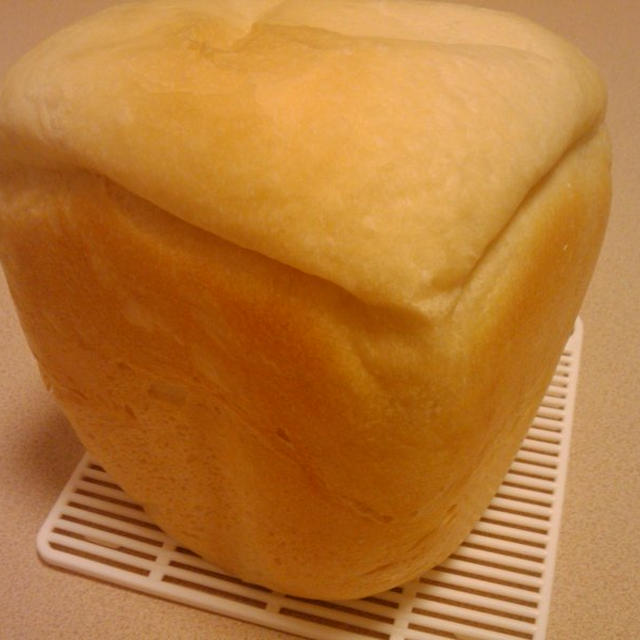 バナナ豆乳DEやわらか甘味パン【牛乳不使用パン】ホームベーカリー