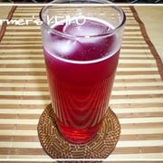 【農家のレシピ】赤シソジュース(濃縮)  4~5倍濃縮で経済的★
