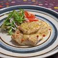 白身魚のソテー 粒マスタードソース