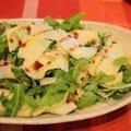洋梨とルッコラとパルミジャーノのサラダ