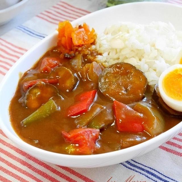 夏野菜たっぷりのカレー