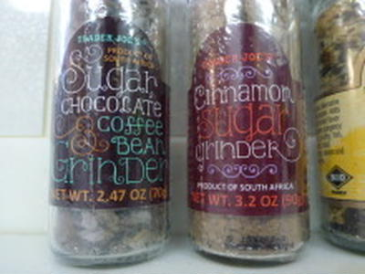 TRADER JOE'S Sugar Chocolate&CoffeeBEAN GRINDER