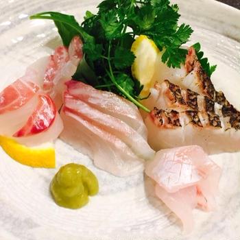 黒鯛の塩〆~クセのあるお魚の食べ方~