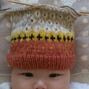 赤ちゃん帽子その2