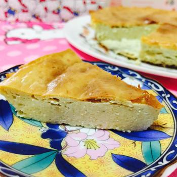 アボカドチーズケーキ♪