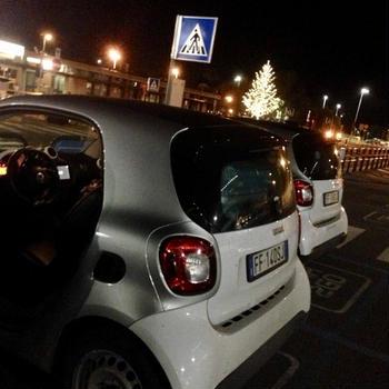 フィレンツェの空港からcar2go