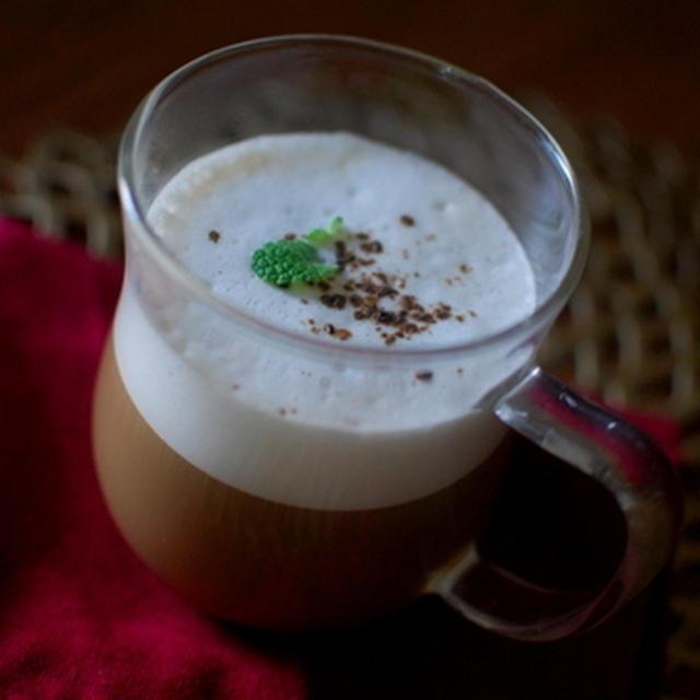オールスパイス香る♪カプチーノ風スパイスコーヒー~ハッピーハロウィン♪~隠れハロウィン弁当