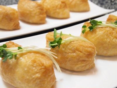 『主食 - いなり寿司』 272kcal- 一汁三菜レシピ
