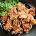 プチッとキムチ風味な鶏の唐揚げ
