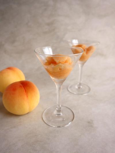 食材2つ☆桃と甘酒のジェラート【#簡単レシピ #食の科学舎】