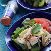 茹で鶏とたたき胡瓜のエスニック和え