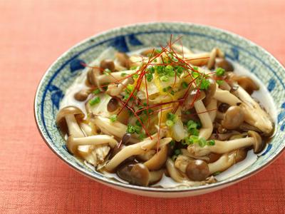 煮汁の再利用、白菜とぶなしめじの煮物