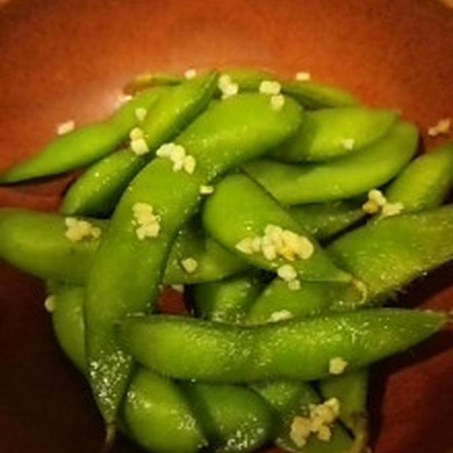 枝豆のガーリック風味