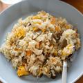 【レシピ】炊飯器で!やさしい味わいの鶏ごぼうピラフ