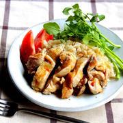 《Cook Do》アジアン鶏飯(チキンライス)を作ってみた☆【#味の素#レビュー】
