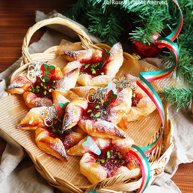 【レシピ】クリスマスの簡単お菓子/いちごのヨウルトルットゥ(←パイです)