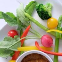 いろいろお野菜のにんにく醤油麹ディップ添え