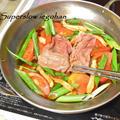 トマトすき焼き。材料少なく簡単でおいしい夏の鍋料理。