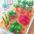 子供が大喜び!野菜畑のポテトサラダ
