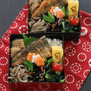 鯖のから揚げとお惣菜(๑¯﹃¯๑)♪