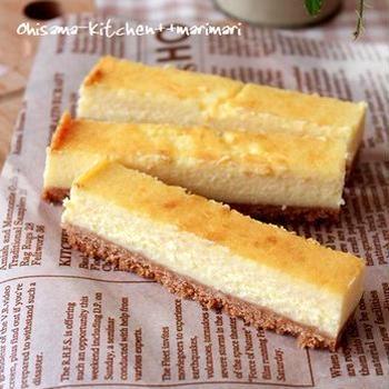 チーズケーキを作りました♥uzukajiさんありがとう!