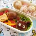 くまさんハンバーグ弁当 by ゆみよんさん