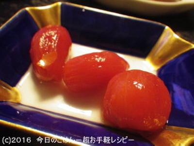 プチトマトのだしびたし ほんとに漬けとくだけです(笑)