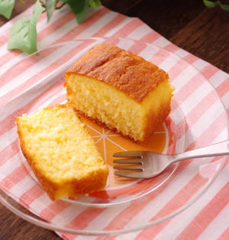 香りさわやか♪ふんわりしっとり簡単「オレンジケーキ」