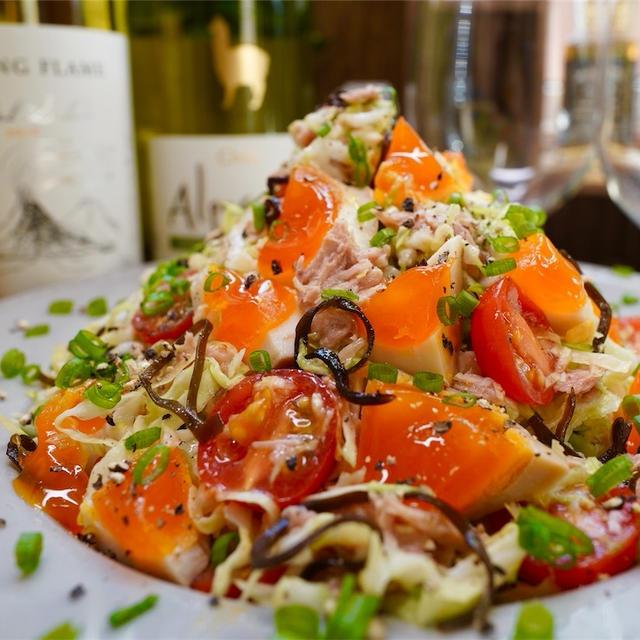 【レシピ】ツナと塩こんぶのやみつきキャベツサラダ