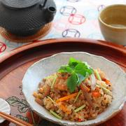 「富澤のだし香る鶏五目ごはん」出汁がらもすべて利用できるお気に入りの出汁パック