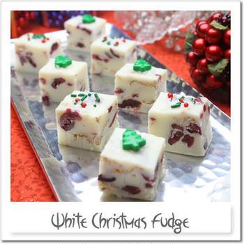 ホワイトクリスマスファッジ