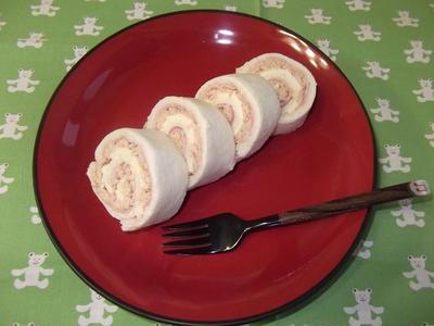 ロールケーキみたいなサンドイッチ