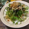 男性料理教室☆冬野菜の梅ドレサラダ