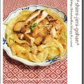 XO醤鶏チャーシューとたっぷりキャベツの蒸し焼き
