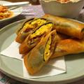 *【レシピ】鰻と卵の春巻き* by りょうりょさん