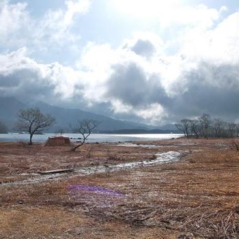 2019年春キャンプ・・・福島県の桧原湖にて
