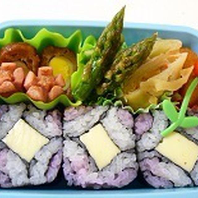 飾り巻き寿司 四海巻弁当 ★★飾り巻き寿司レッスン6月 カエル