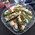 自分をもてなす週末♡ベビーホタテとカマンベールのオードブル風サラダ