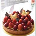 赤いフルーツのタルト☆ by hitomiさん